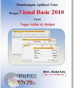 Tutorial VB.Net lengkap Program Toko